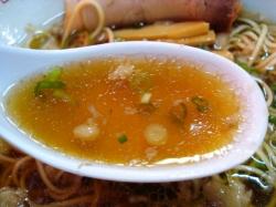 尾道の湧き水で作った秘伝のスープ